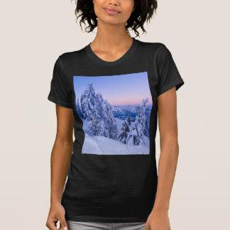 Evening Snowscape Shirt