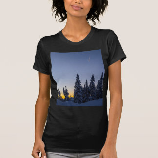 Evening Snowscape T Shirt