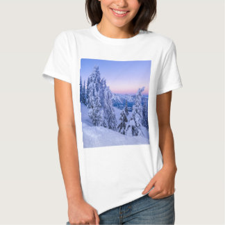 Evening Snowscape Tshirt
