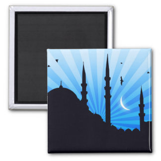 Evening stars in Istanbul Square Magnet