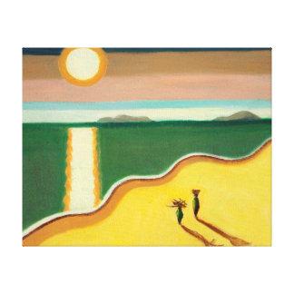 Evening Sun 2010 Canvas Print