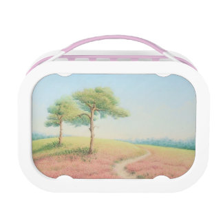 Evening Sun, New Forest Pine Trees Yubo Lunchbox