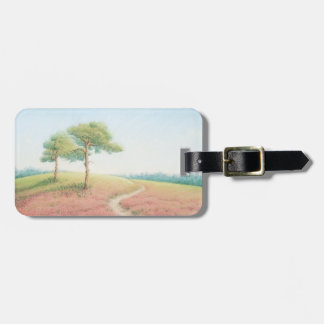 Evening Sun New Forest Pines Hampshire Luggage Tag