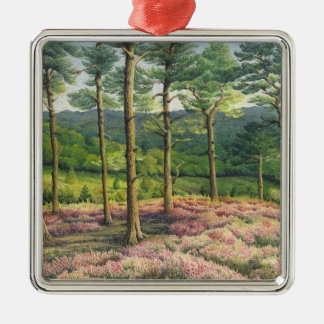 Evening Sun, Surrey Hills Pines Christmas Ornament