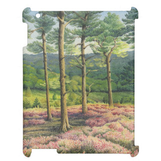 Evening Sun, Surrey Hills Pines Pastel iPad Case