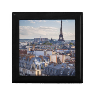 Evening sunlight over the buildings of Paris Gift Box