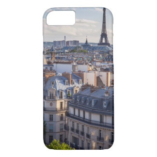 Evening sunlight over the buildings of Paris iPhone 7 Case