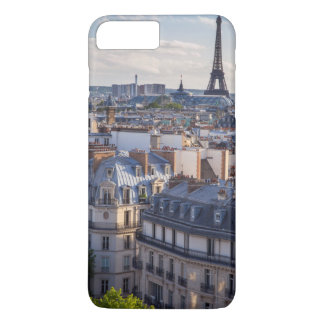 Evening sunlight over the buildings of Paris iPhone 8 Plus/7 Plus Case