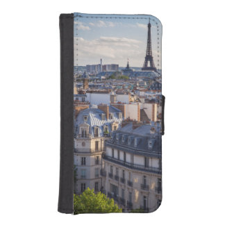 Evening sunlight over the buildings of Paris iPhone SE/5/5s Wallet Case