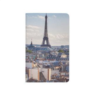 Evening sunlight over the buildings of Paris Journals