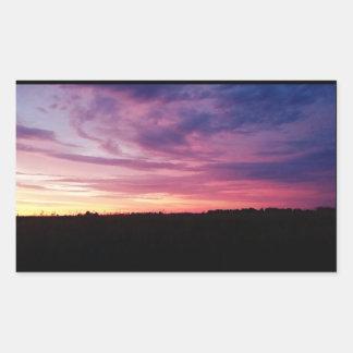 Evening Sunset Stickers