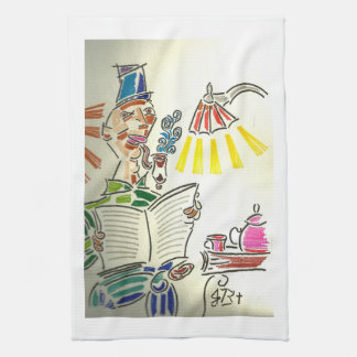 Evening Tea Tea Towel