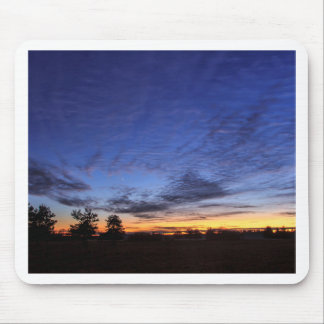 Evening tendency mousepads