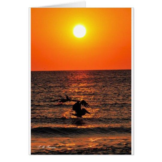 Evening tide card