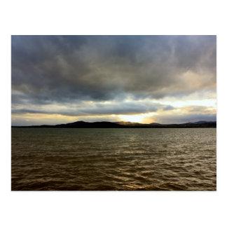 Evening tide, Ireland Postcard