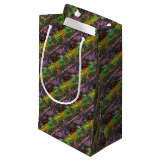 Evening unfurls over landscape small gift bag