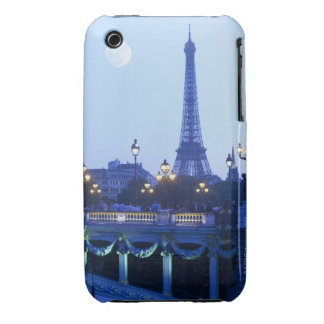 Evening View of Eiffel Tower Case-Mate iPhone 3 Cases