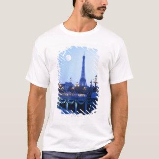 Evening View of Eiffel Tower T-Shirt