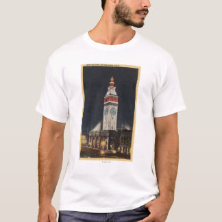 Evening View of Ferry Building T-Shirt
