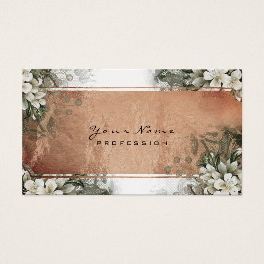 Event Floral Mint Green Gold White Rose Gold