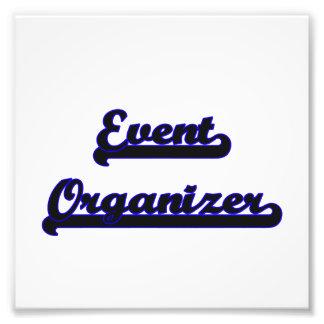 Event Organizer Classic Job Design Art Photo