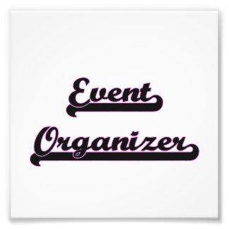 Event Organizer Classic Job Design Photo