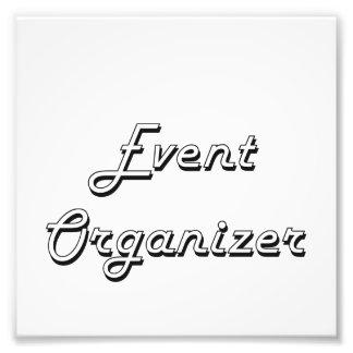 Event Organizer Classic Job Design Photo Print