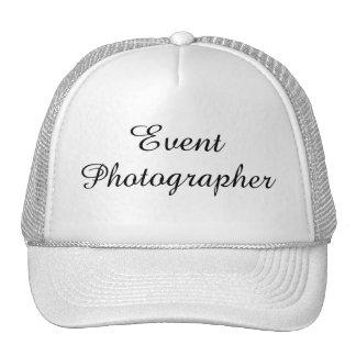 """Event Photographer"" Hat"