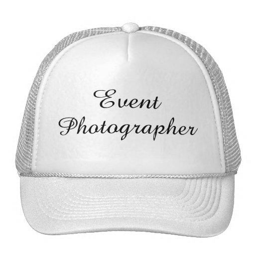 """Event Photographer"" Hat Trucker Hat"