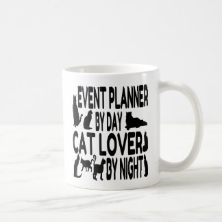 Event Planner Cat Lover Coffee Mug