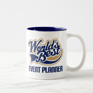 Event Planner Gift Two-Tone Coffee Mug