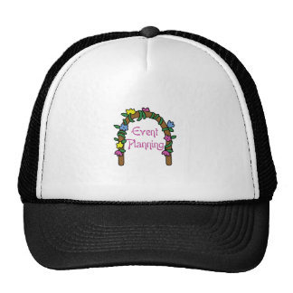 EVENT PLANNING MESH HATS