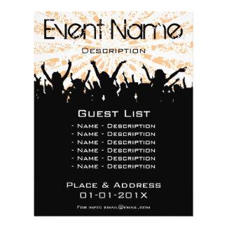 Event Promotion 21.5 Cm X 28 Cm Flyer