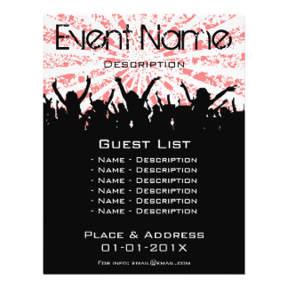 Event Promotion Personalized Flyer