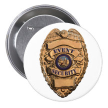 EVENT SECURITY 3 INCH ROUND BUTTON