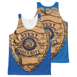 EVENT SECURITY All-Over PRINT TANK TOP