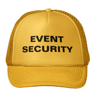 Event Security Hat