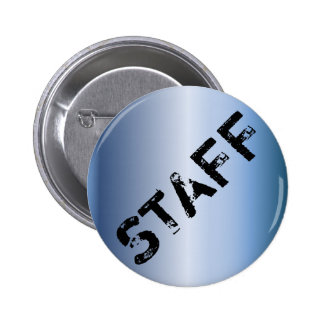 Event Staff Badge grunge metallic