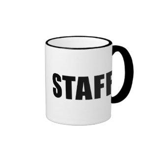 Event Staff Ringer Coffee Mug