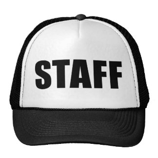 Event Staff - Security Crew Cap