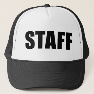 Event Staff Security Crew Gear Trucker Hat