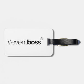 #eventboss luggage tag