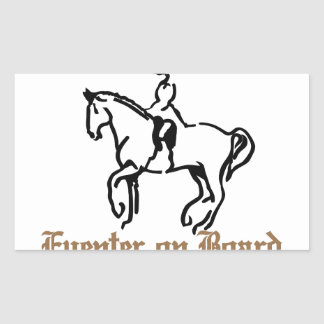 Eventer On Board Rectangular Sticker
