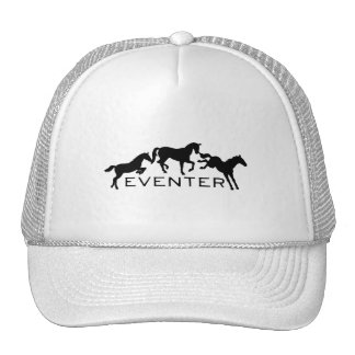 Eventer with Three Jumping Horses Cap
