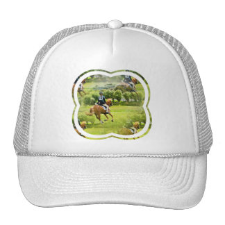 Eventing Horse Baseball Hat
