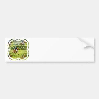 Eventing Horse Bumper Sticker