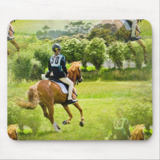 Eventing Horse Mouse Pad