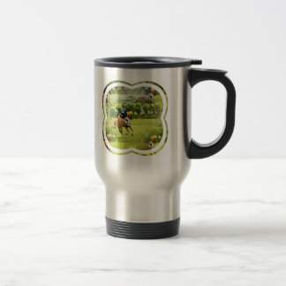 Eventing Horse Stainless Travel Mug