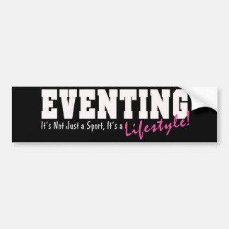 Eventing Lifestyle Bumper Sticker