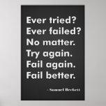 Ever tried? Ever failed?
